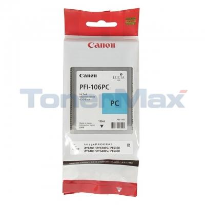 CANON PFI-106PC IMAGEPROGRAF IPF6300 INK PHOTO CYAN 130ML